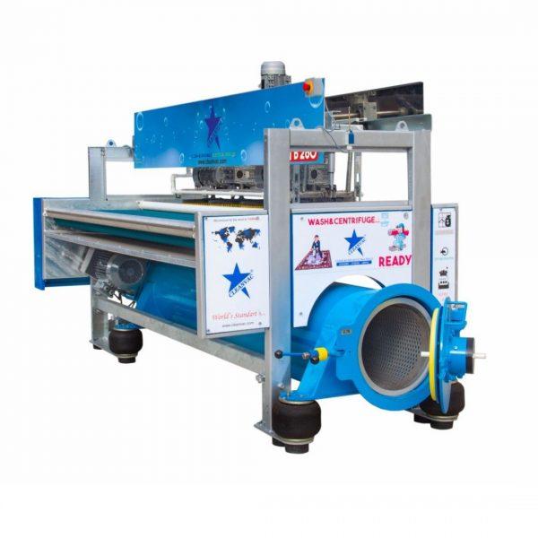 Combined Model Carpet Washing Drying Machine